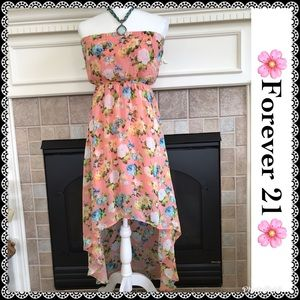 Forever 21 high low dress, size S